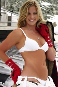 Appearing in the 2010 Sports Illustrated Swimsuit Issue